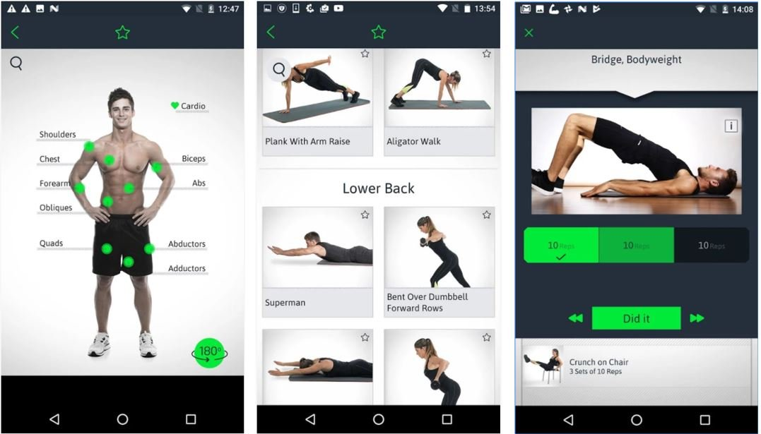 Home Workouts Personal Trainer best Workouts app for women men