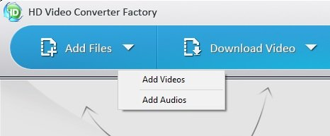 How to convert videos using HD video conveter factory