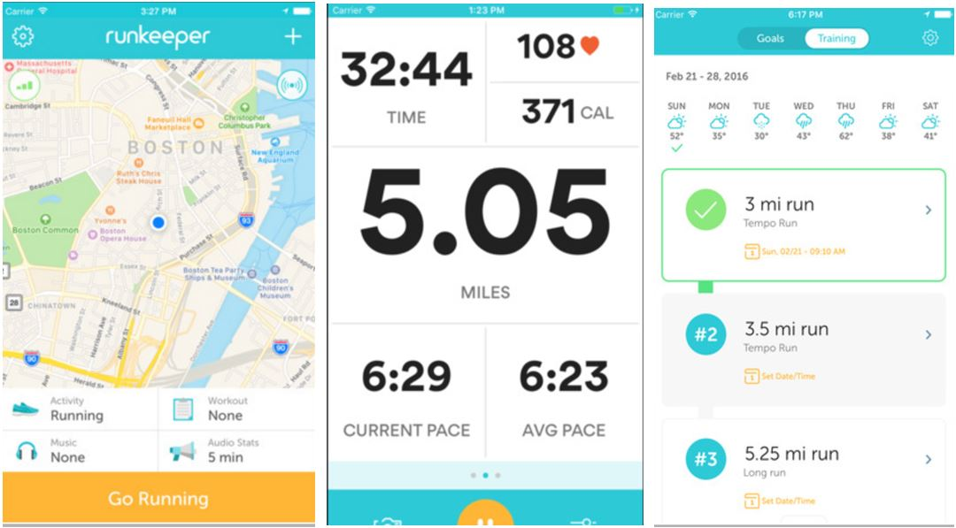 Runkeeper GPS Track Run Walk Niche Category best Workout apps