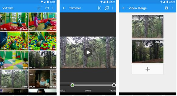 VidTrim – Video Editor free video editor apps for android