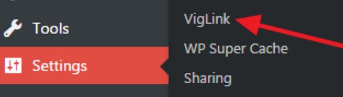 Viglink wordpress plugin add