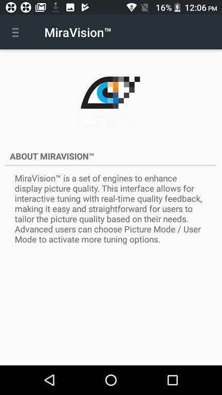 miravision display review panasonic eluga a3 pro