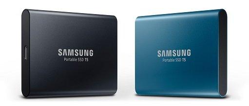samung SSD T5 portable hard disk