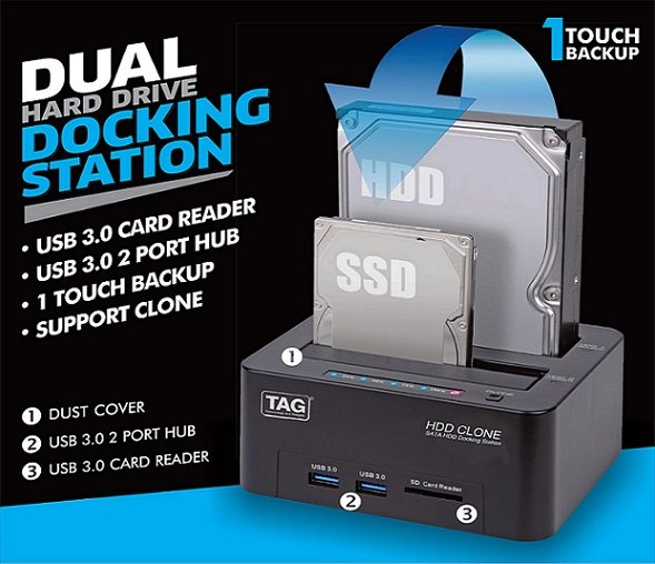 Hard Drive Docking Station Usb 3.0