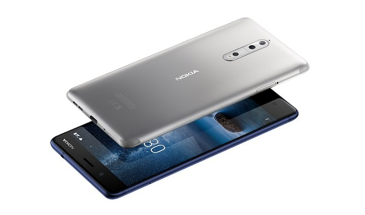 Nokia 8 Key Features and Detailed Specifications