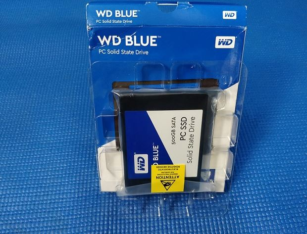 WD BLue 500GB SSD review