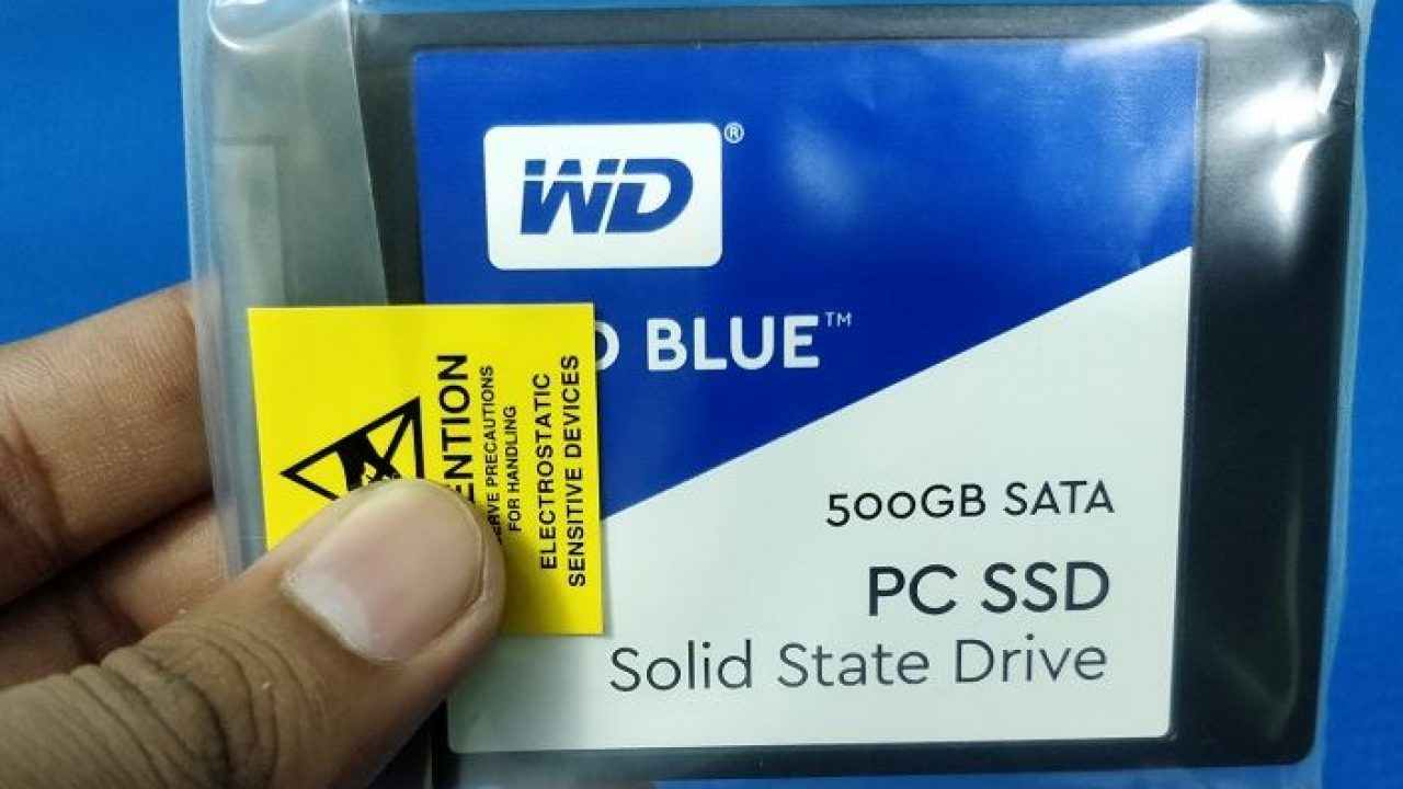 WD Blue 500GB SSD WDS500G1B0A Review | H2S Media