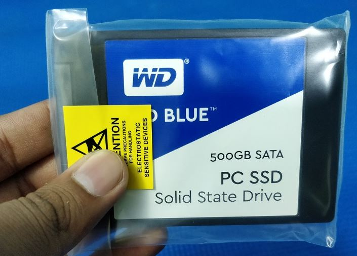 WD Blue 500GB SSD WDS500G1B0A Review