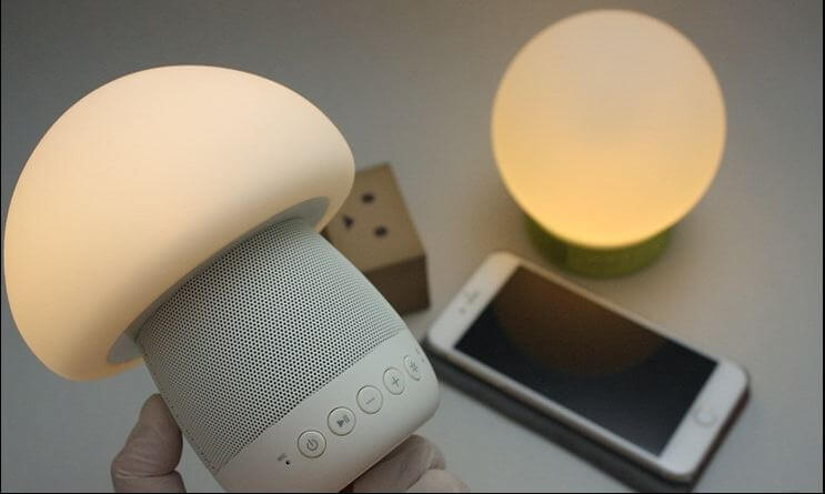 Emoi Smart Touch Lamp Bluetooth Speakers