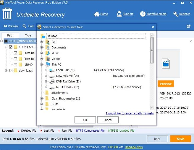 How to Prevent Lost Data from Being Overwritten by New Data