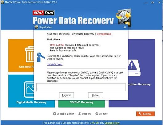 How to Use MiniTool Power Data Recovery