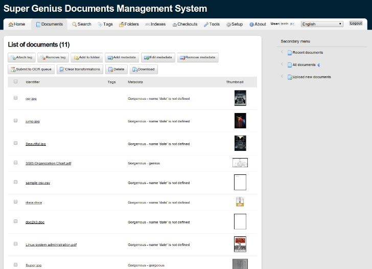 Mayan EDMS Open source document management