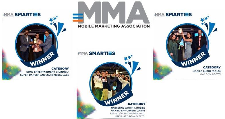 Mobile Marketing Association SMARTIES India awards 2017