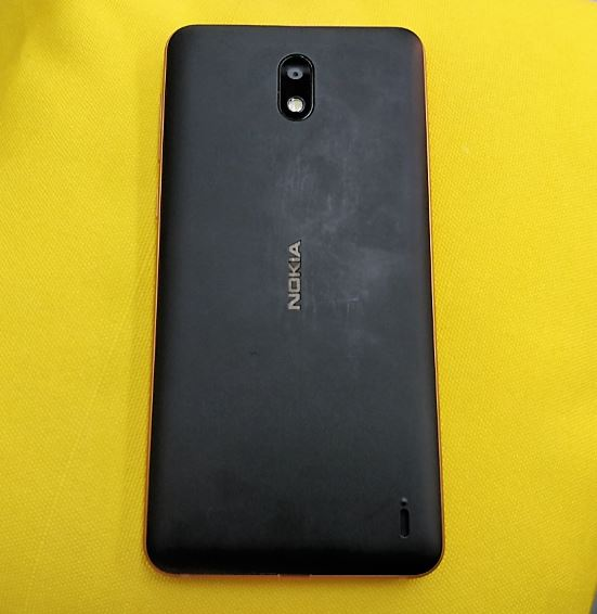 Nokia 2 back review