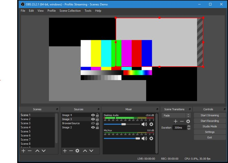 OBS Studio (Open Broadcaster Software)