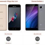 Panasonic Eluga Ray 500 vs Xiaomi Redmi 4