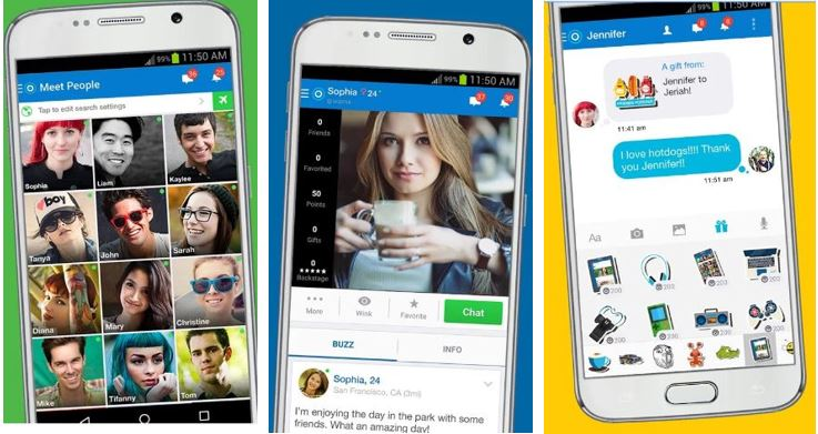 SKOUT tinder like app to Meet, Chat, Friend