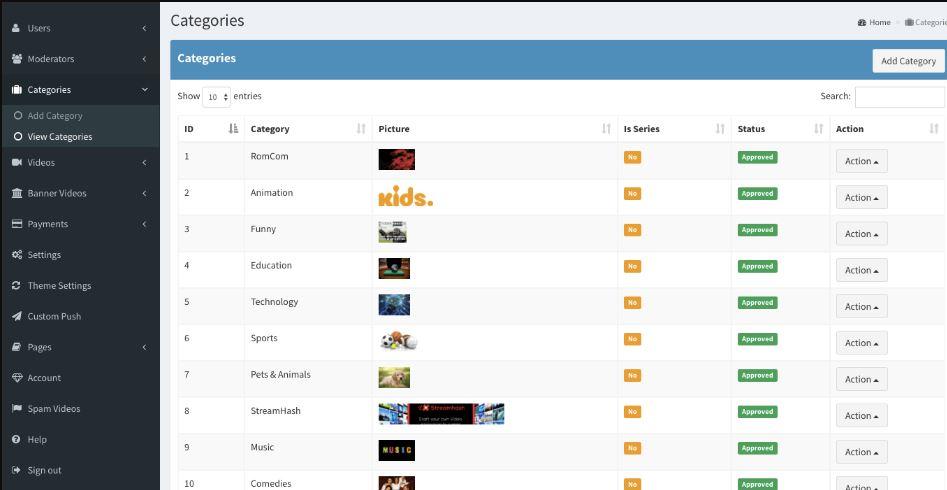 Streamhash-Netflix Clone Free Lite version Video Streaming Servers