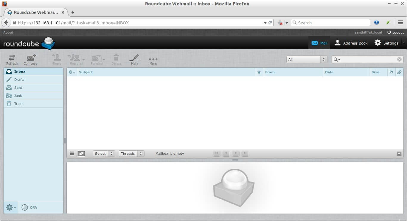 iRedMail webserver rouncube opensoucre mail server
