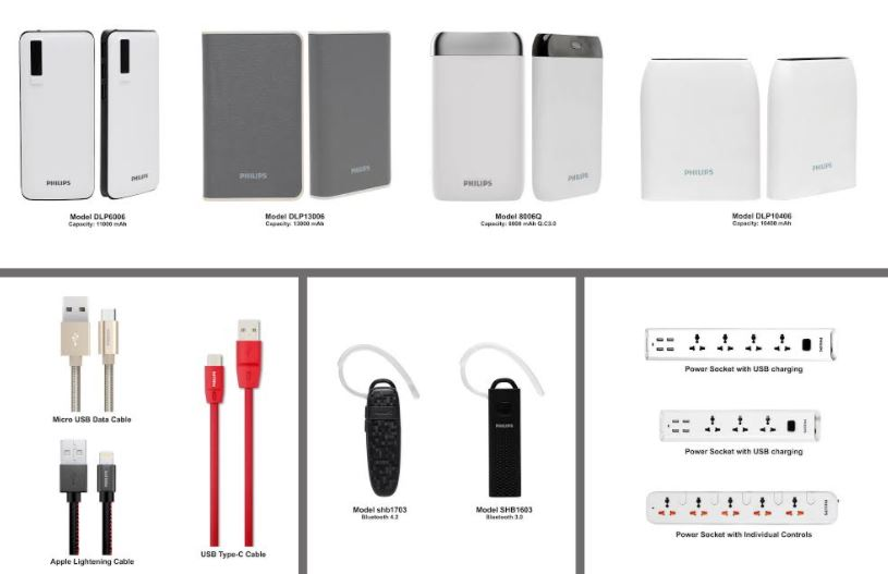 ATI Electronics launches Philips Power Banks and other mobile accessories
