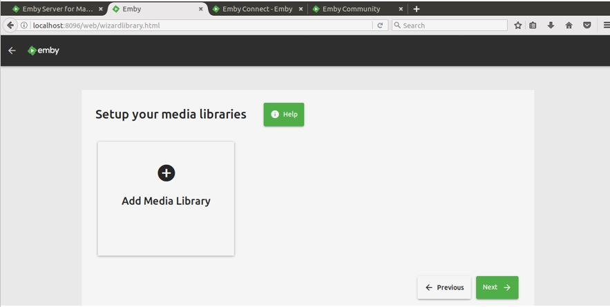 How To Install and Setup Emby Media Server on Ubuntu Linux
