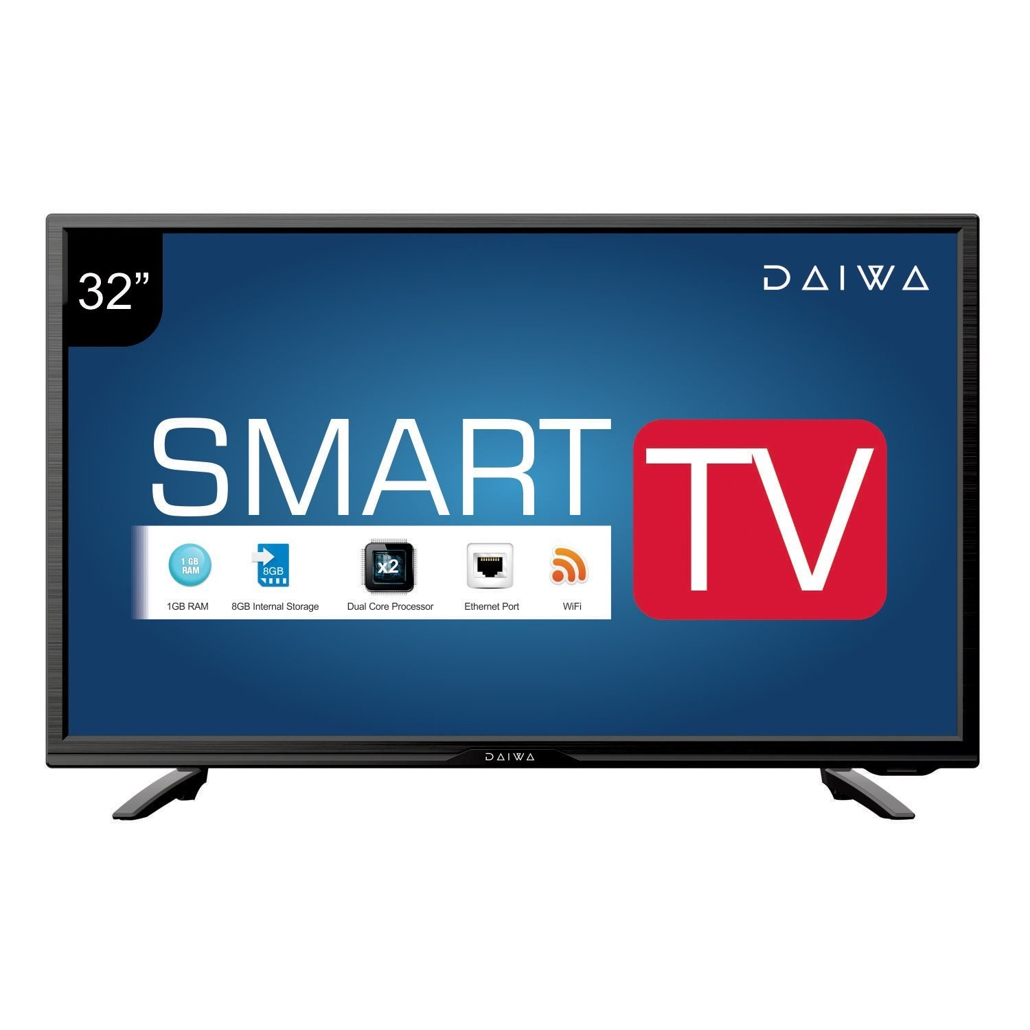 Daiwa Smart Android LED TV D32C4S is Now Available at INR 15490 in India