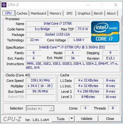 how to find motherboard model windows 8