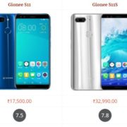 Gionee S11 vs Gionee S11S Comparison Specifications, Price and Features