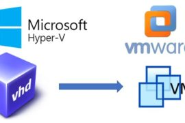 How To Use HyperV VHD Disk Image file in VMware Without Converting