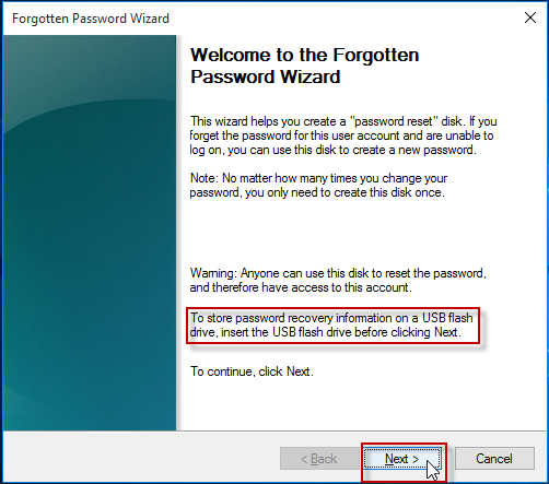 How to Reset computer password running on windows