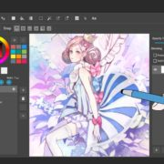 MediBang Paint is cross-platform drawing app