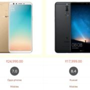 Oppo F5 vs Honor 9i Comparison Specifications, Price and Features