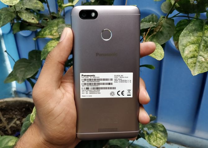 Panasonic Eluga A4 back camera review