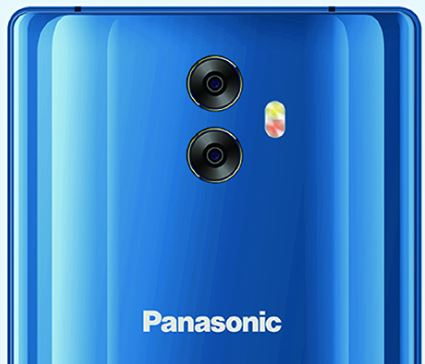 Panasonic Eluga C smartphone rear dual camera