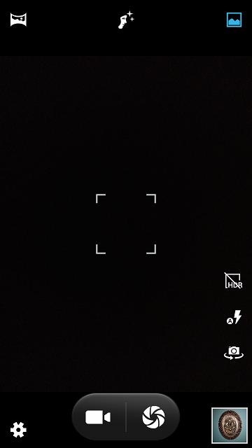 Pansonic Eluga A4 camera app review