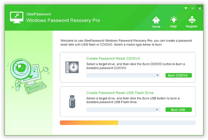 Reset Windows Laptop Password with Password Recovery Program
