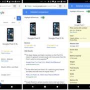 Soon Google Search will Display the Product Comparison
