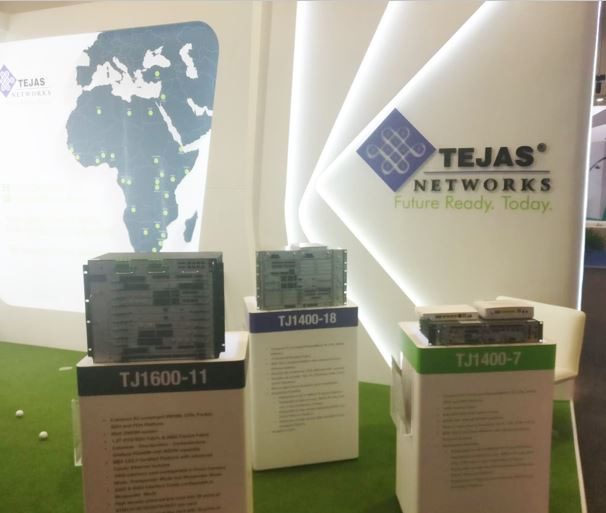 Tejas Networks showcases its innovative products for emerging markets at AfricaCom 2017