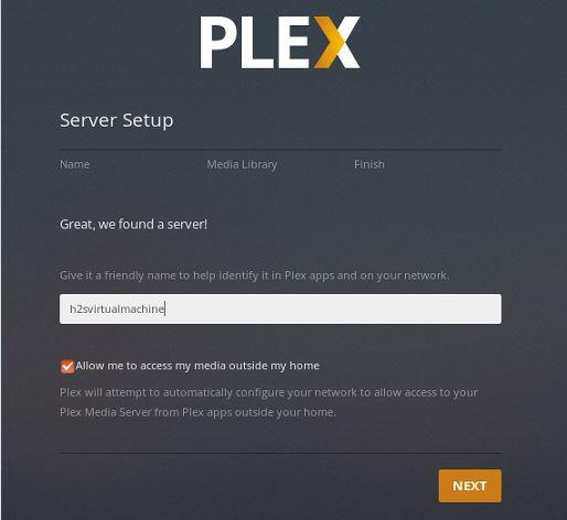 Ubuntu media server Linux