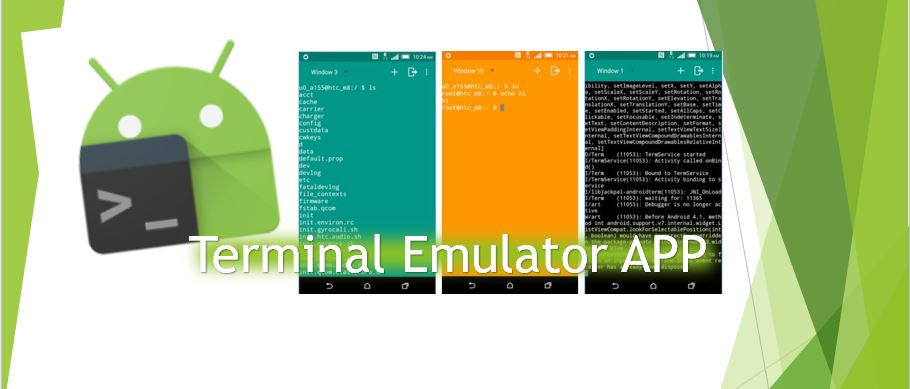 10 Best Free Terminal Emulator APP for Android | H2S Media