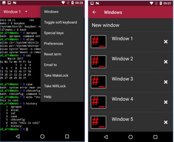 10 Best Free Terminal Emulator APP for Android | Tech Mistake