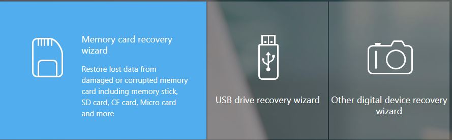 EaseUS Data Recovery Wizard Memory card recovery wizard