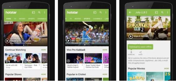 Hotstar entertaining app google