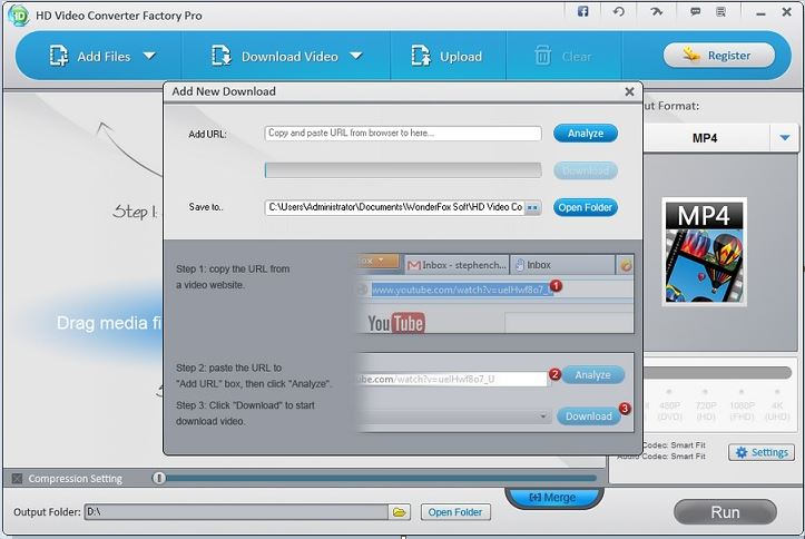 How To use the Online Video or Audio Downloader