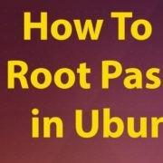 How to reset lost root password on Ubuntu 17.04