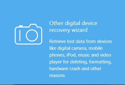 Other Digital device recovery wizard