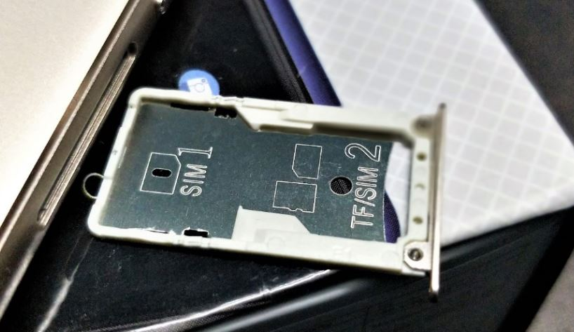 Panasonic Eluga i9 sim tray hybrid