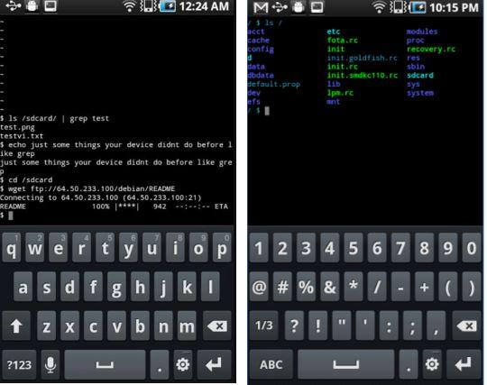 Tiny Utils android emulators