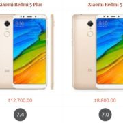Xiaomi Redmi 5 Plus vs Xiaomi Redmi 5 Comparison Specifications, Price and Features