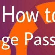 ubuntu change password
